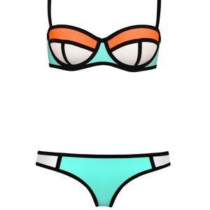 Triangl 'Poppy' Summer Sorbet Bikini Top & Bottom